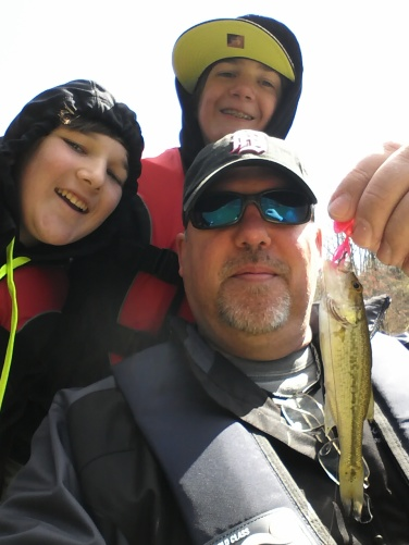 John and Drew's Fishing Selfie!